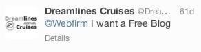 Dreamline Tours Australia Tweet