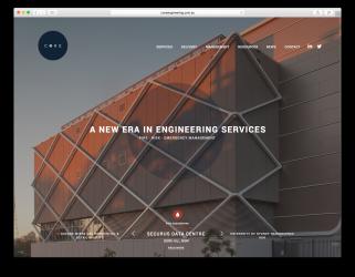 Core Engineering Website
