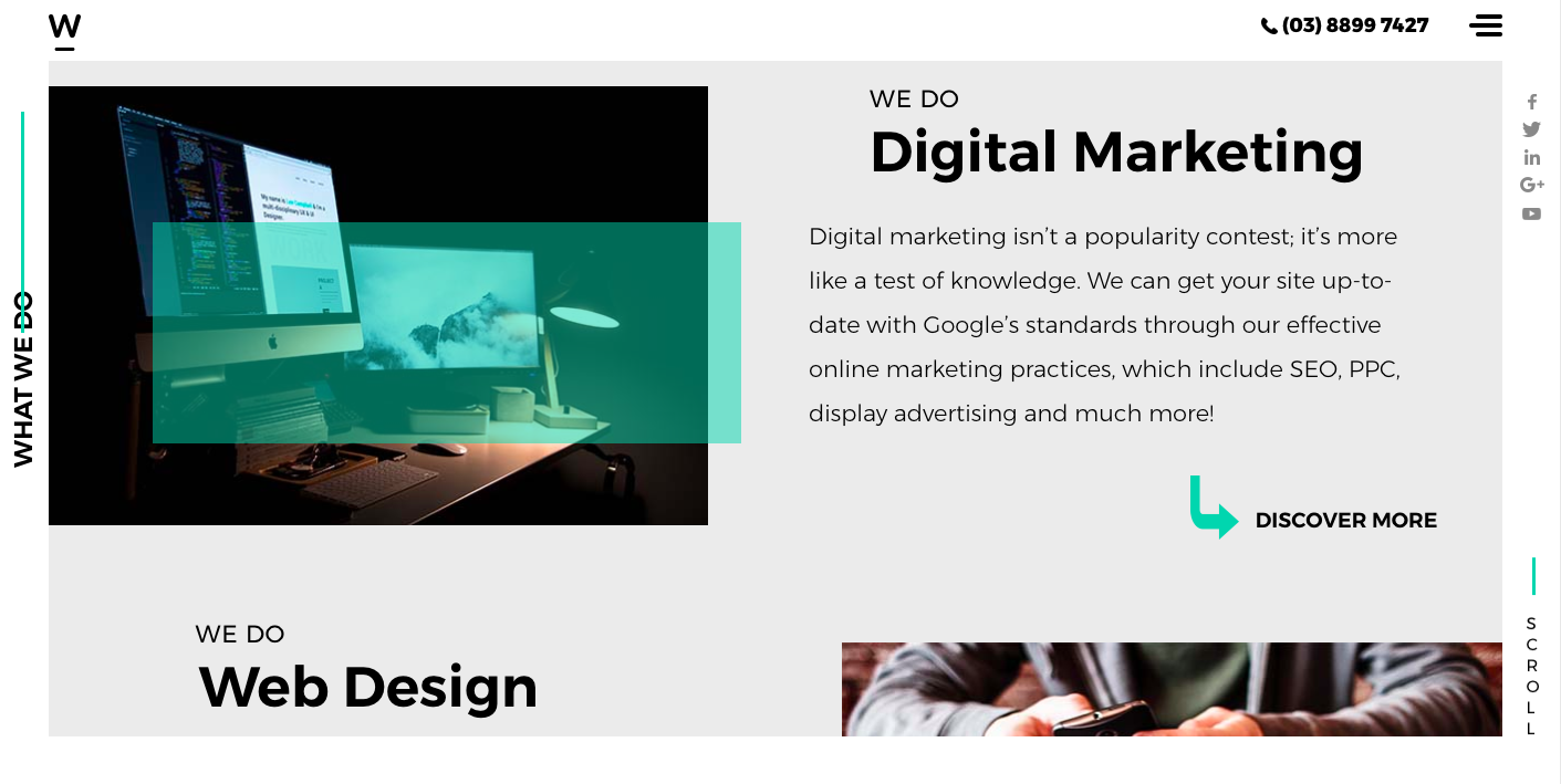 Webfirm's services