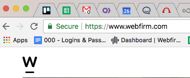 Googles ssl certificate changes