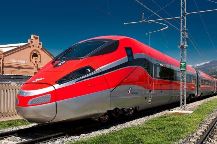train in Italy
