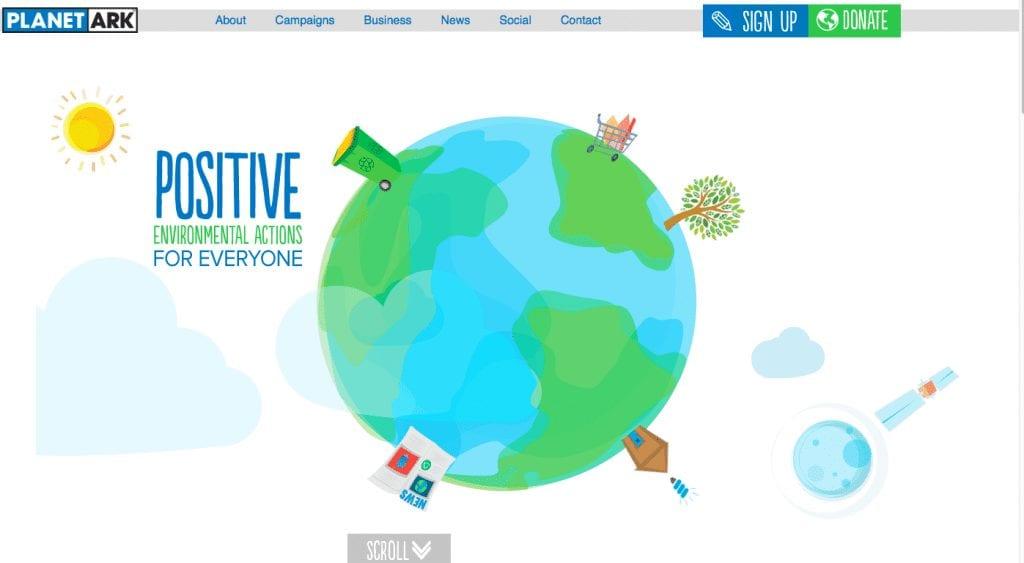 Planet Ark website