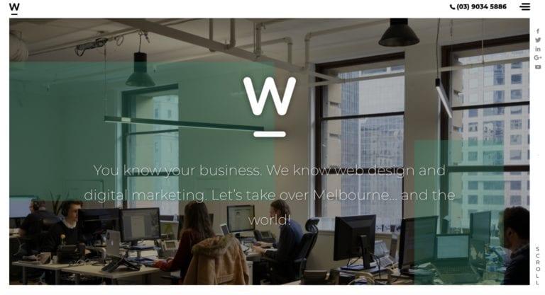 Webfirm website