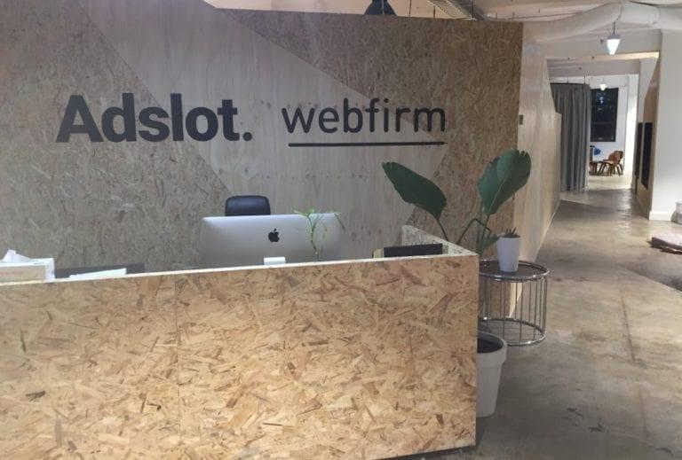 Adslot/Webfirm entrance in Melbourne