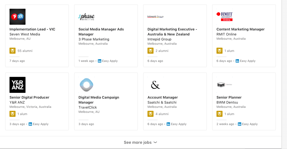 LinkedIn job ads