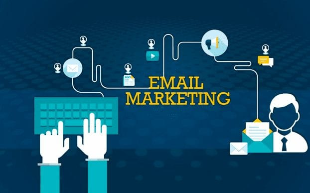 graphic of email marketing