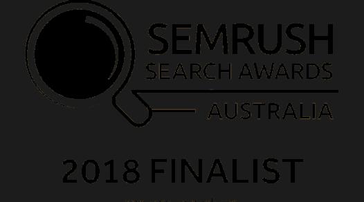 SEMRush search awards Australia logo