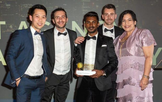 SEMRush Search Awards Australia winners
